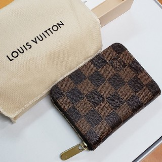LOUIS VUITTON - 2018年製 ダミエ ジッピーコインパース