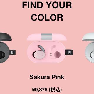 オーディオテクニカ(audio-technica)のST-XS2 soulワイヤレスイヤフォン ピンク(ヘッドフォン/イヤフォン)