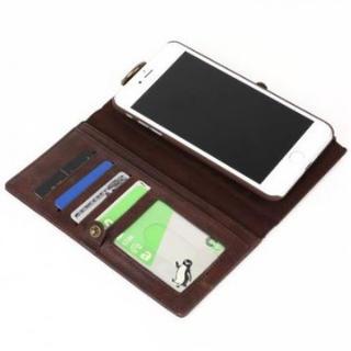 iPhone7Plus/8Plusレザーケース 手帳型 財布型 マグネット式 (iPhoneケース)