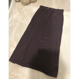 シマムラ(しまむら)のロングスカート ブラウン系 コットンスカート(ロングスカート)