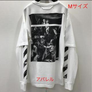 OFF-WHITE - 新品20SS OFF-WHITE カラヴァッジョ ダブルスリーブ Tシャツ M