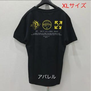 OFF-WHITE - 新品20SS OFF-WHITE マルチシンボル ロゴ 半袖Tシャツ XL 黒