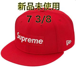 シュプリーム(Supreme)のsupreme $1M Metallic Box Logo New Era 赤(キャップ)