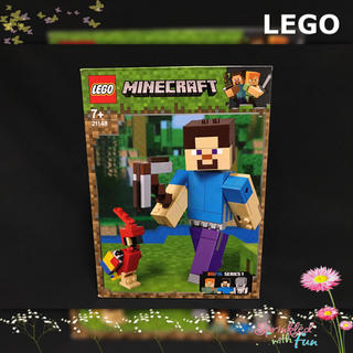 Lego - マイクラ レゴ 21148 スティーブ オウム 【新品】