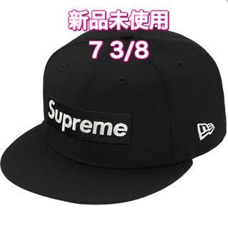 シュプリーム(Supreme)のsupreme $1M Metallic Box Logo New Era 黒(キャップ)