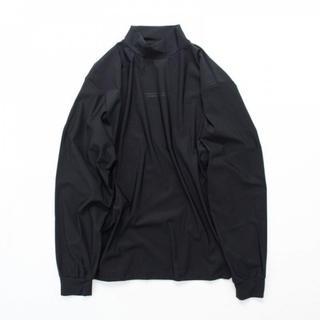 アンユーズド(UNUSED)のstein 20ssOVERSIZED HIGH NECK LS・BLACK(Tシャツ/カットソー(七分/長袖))