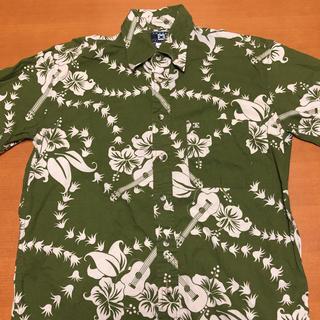 エキプモン(Equipment)のエキプモン 総柄 半袖 シャツ メキシコ製 レーヨン M(シャツ)