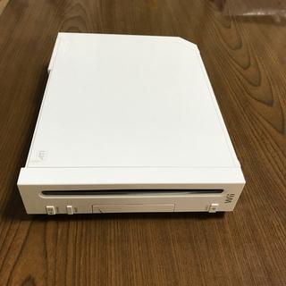 ウィー(Wii)の任天堂Wii本体(家庭用ゲーム機本体)