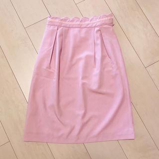 tocco - ウエストスカラップタイトスカート