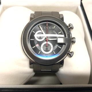 グッチ(Gucci)のグッチ クロノスコープ 美品(腕時計(アナログ))