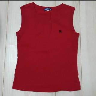 バーバリーブルーレーベル(BURBERRY BLUE LABEL)のBURBERRY BLUE LABELノースリーブシャツ(シャツ/ブラウス(半袖/袖なし))