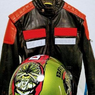 DIESEL×ドラゴンボールヘルメット×ケース(ライダースジャケット)