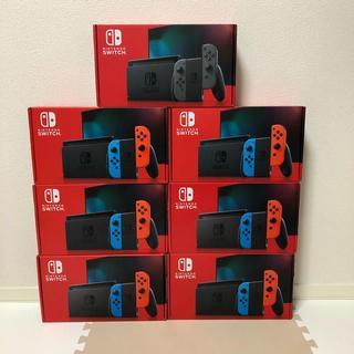 ニンテンドー Switch 本体 新型 4台(家庭用ゲーム機本体)