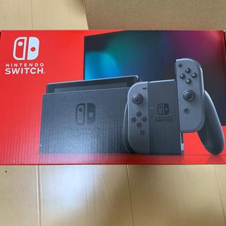 ニンテンドウ(任天堂)のNintendo Switch 本体 Joy-Con グレー 新品未開封(家庭用ゲーム機本体)
