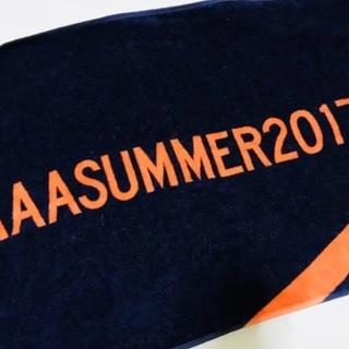 トリプルエー(AAA)のAAA SUMMER 2017 スポーツタオル(ミュージシャン)