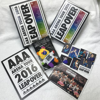 AAA ARENA TOUR 2016 - LEAP OVER -  初回限定版(ミュージック)