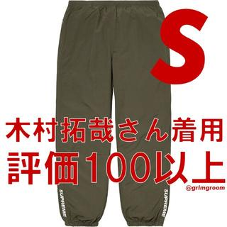 Supreme - Supreme Warm Up Pant olive Sサイズ