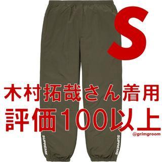 シュプリーム(Supreme)のSupreme Warm Up Pant olive Sサイズ(その他)