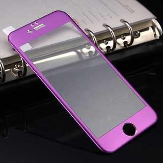 iPhoneSE第2世代 パープル チタンフレーム(モバイルケース/カバー)