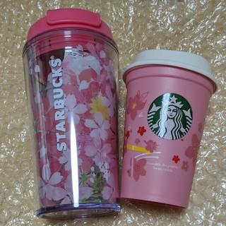 Starbucks Coffee - 定形外 スターバックス SAKURA  さくら タンブラー&リユーザブカップ