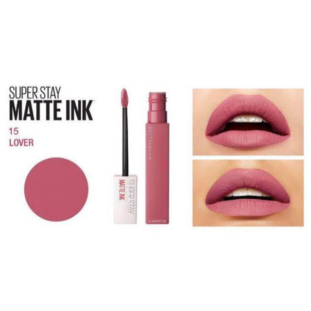 MAYBELLINE(メイベリン)のスーパー ステイ マット インク 15  LOVER コスメ/美容のベースメイク/化粧品(口紅)の商品写真