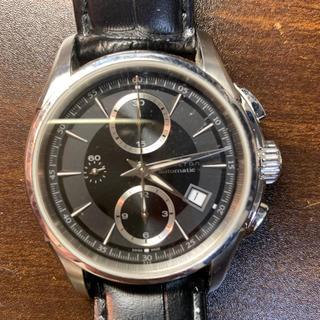 ハミルトン(Hamilton)の腕時計 Hamilton WR-N-30925 ジャズマスター 黒革(レザーベルト)