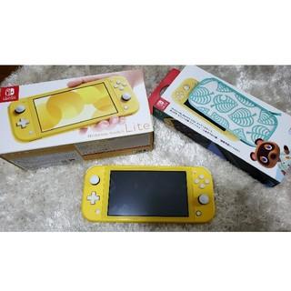 ニンテンドースイッチ(Nintendo Switch)のニンテンドースイッチライト イエロー(家庭用ゲーム機本体)
