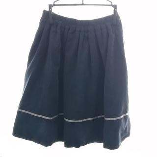 アクシーズファム(axes femme)の【axes femme】リバーシブルスカート(ひざ丈スカート)