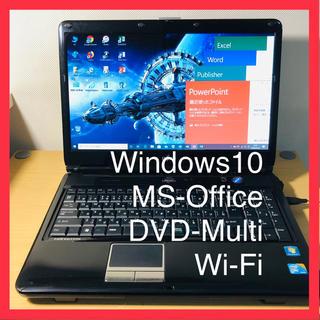 A25-高速FMV■Win10+MSOffice+Wifi+DVDマルチ(ノートPC)