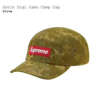 シュプリーム(Supreme)のsupreme Satin Digi Camo Camp Cap  week14(キャップ)