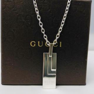 グッチ(Gucci)の☆特別価格☆ GUCCI グッチ ネックレス シルバー(ネックレス)