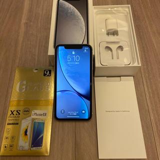 アイフォーン(iPhone)のiPhone XR white 128GB SIMフリー docomo(スマートフォン本体)