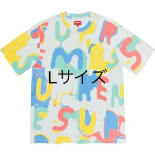 Supreme - Supreme Painted Logo S/S Top L