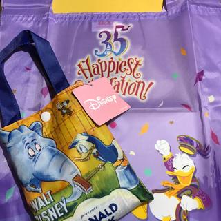 ディズニー(Disney)の【入手困難!】ドナルド★エコバッグ2個セット(エコバッグ)