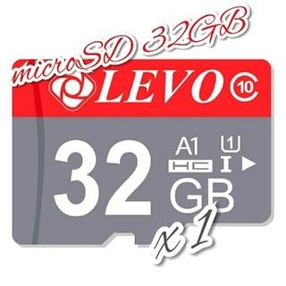 microSD カード 32GB 1枚 CLASS 10 UHS-I LVRG