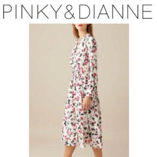 ピンキーアンドダイアン(Pinky&Dianne)のPINKY&DIANNE フラワープリントワンピース (ロングワンピース/マキシワンピース)
