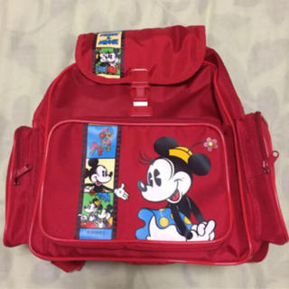 ディズニー(Disney)の未使用品 ミッキー&ミニー 子供用リュック M 5-8才適応サイズ(リュックサック)