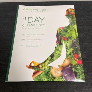 GREENBROTHERS 1day クレンズセット GB ファスティング(ダイエット食品)