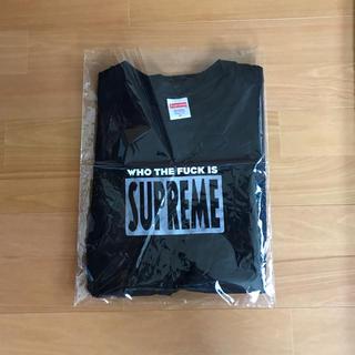 シュプリーム(Supreme)のsupreme   Who The Fuck Tee (Tシャツ/カットソー(半袖/袖なし))