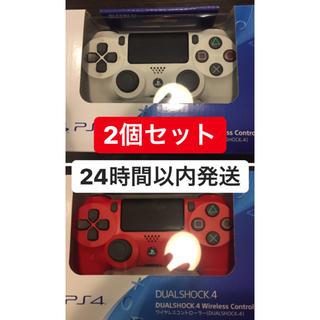 プレイステーション4(PlayStation4)のDUALSHOCK4 ワイヤレスコントローラー 2個セット 純正(その他)