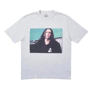 シュプリーム(Supreme)のPalace wise up grey L(Tシャツ/カットソー(半袖/袖なし))