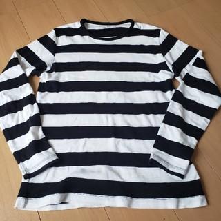 ユニクロ(UNIQLO)のユニクロ ボーダーロンT(Tシャツ/カットソー(七分/長袖))