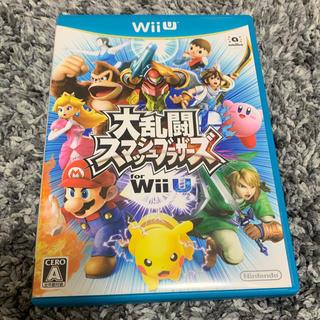 ウィーユー(Wii U)の大乱闘スマッシュブラザーズ WiiU (スマブラ)(家庭用ゲームソフト)