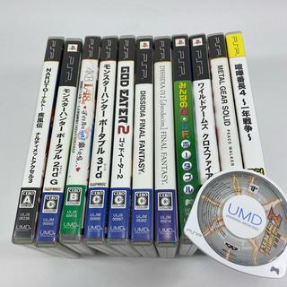 プレイステーションポータブル(PlayStation Portable)のPSP ソフト12本セット ワイルドアームズ 喧嘩番長 ファイナルファンタジー(携帯用ゲームソフト)