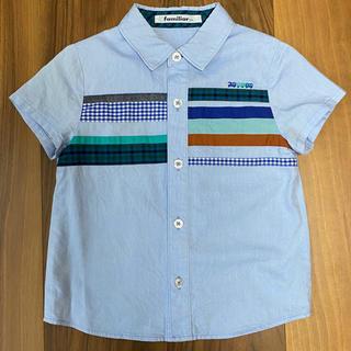 familiar - familiar ファミリア 半袖 シャツ 美品 100