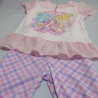 プリキュア 半袖半ズボン 110 2セット(パジャマ)