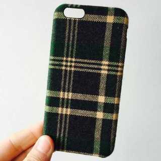チェック模様 iPhone6 iPhone6s カバー tpuケース ツイード(iPhoneケース)