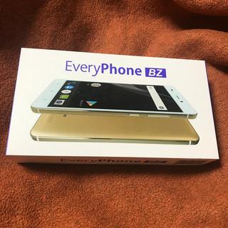 SIMフリースマートフォン EveryPhone BZ(スマートフォン本体)
