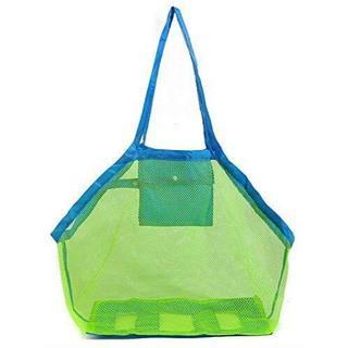 【子供とお出かけ用】大きいサイズで水陸両用おもちゃ入れ(トートバッグ)