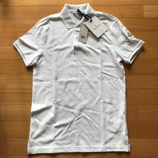 モンクレール(MONCLER)の【新品】MONCLER ポロシャツ M(ポロシャツ)